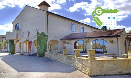 Cheshire: Double Room Two with Breakfast at Best Western Everglades Park Hotel