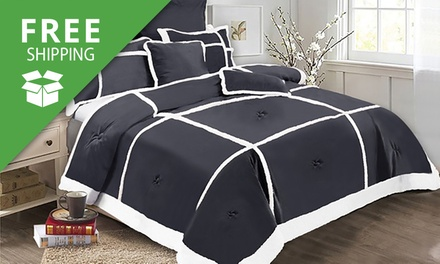 Free Shipping: Soho Sherpa SevenPiece Comforter Set: Double $49, Queen $69 or King $75 Don't Pay up to $239