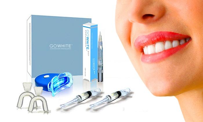 Gowhite Teeth Whitening Kit Groupon Goods