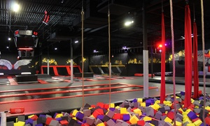 Up to 50% Off Jump Passes or a Party at CircusTrix at CircusTrix Extreme Air Sports, plus 6.0% Cash Back from Ebates.