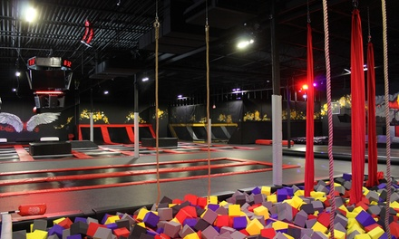 90-Minute Jump Pass for One, Two, Four, or Six People at CircusTrix Extreme Air Sports - Idaho (Up to 50% Off)