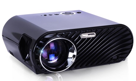 Pyle Compact Color Pro Digital HD 1080p LCD Projector with Built-In Speakers for Screens up to 120 28101e12-7e0d-11e7-b8d2-00259060b5da