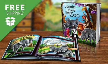 Free Shipping: .99 for a Personalised Children's Storybook in Soft or Hardcover Don't Pay Up to $79.98