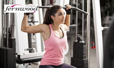 FourWeek Gym Membership for One $29 or Two People $55 at Fernwood Canberra City Up to $216 Value