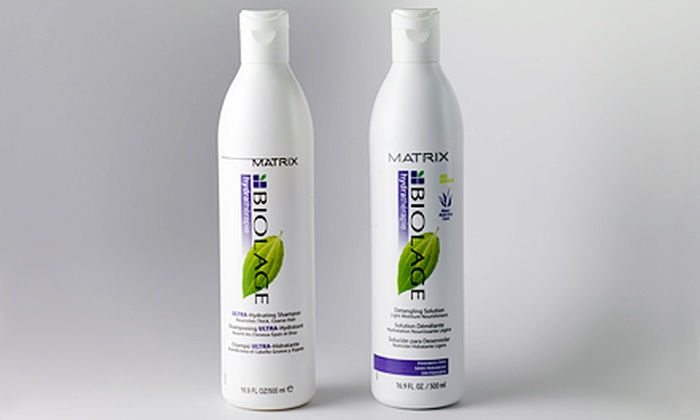 Matrix Biolage Hydrathérapie Duo: $25 for a Biolage Hydrathérapie Duo (Up to $42.99 List Price)