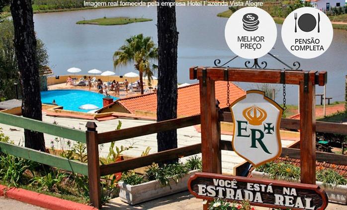 São Lourenço/MG: até 7 noites a 2 (opções feriados) + pensão completa no Hotel Fazenda Vista Alegre