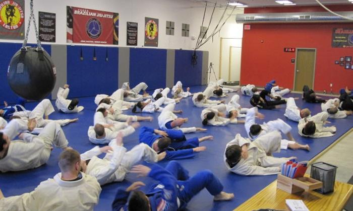 Fargo Brazilian Jiu-jitsu Academy - Downtown: 10 Brazilian Jiu-Jitsu Classes at Fargo Brazilian Jiu-jitsu and Kickboxing Academy (40% Off)