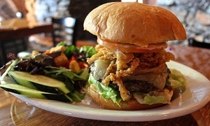 The Lodge Sports Grille: American Grill Food at The Lodge Sports Grille (Up to 40% Off). Two Options Available.