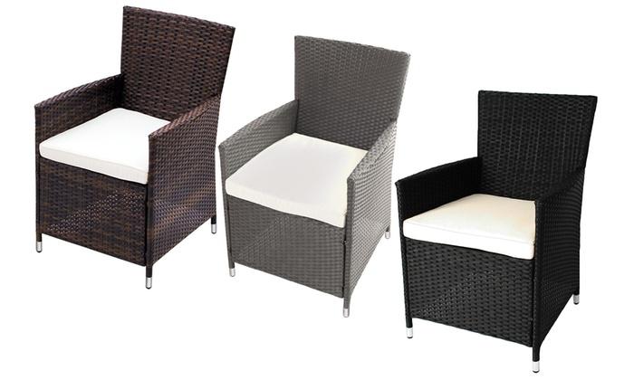 Rattan Garden Furniture Groupon garden chairs groupon - container gardening ideas