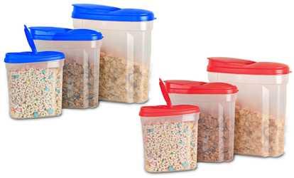 Keeperz Glass Food Storage Set with Lids 18 Piece Groupon