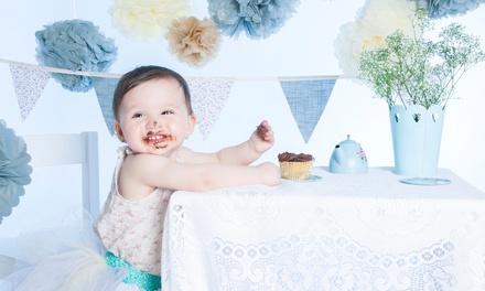 Cake Smash Photoshoot with Prints