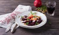 Veganes 5-Gänge-Menü für zwei oder vier Personen im Restaurant Lorbeer (41% sparen*)