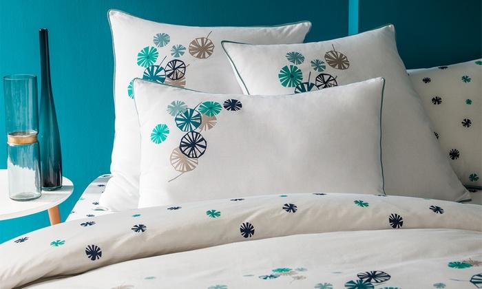 linge de lit matt et rose groupon shopping. Black Bedroom Furniture Sets. Home Design Ideas