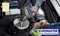 Forfait vidange + points de contrôle dans votre centre Euromaster à partir de 49,90 €