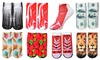 Set van 7 paar sokken met 3D print
