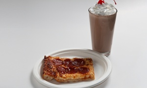 Malt Shop Cafe: $12 for $20 Worth of Fast Food and Ice Cream at Malt Shop Cafe (Up to 40% Off)