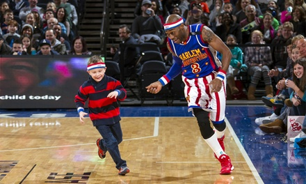 Presale: Harlem Globetrotters Game on Friday, April 1, 2016 at 7 p.m.