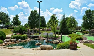 Carol Stream Park District: Mini Golf for Two or Four at Coyote Crossing Mini Golf (Up to 45% Off)