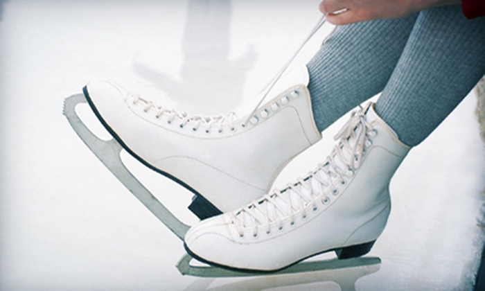 Swonder Ice Arena - Evansville: Ice Skating for Two or Four Adults or Family of Four at Swonder Ice Arena (Half Off)