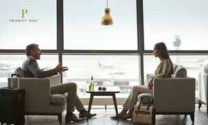Priority Pass: $9 for up to 50% Off Airport Lounge Membership at Over 400 Cities Worldwide with Priority Pass
