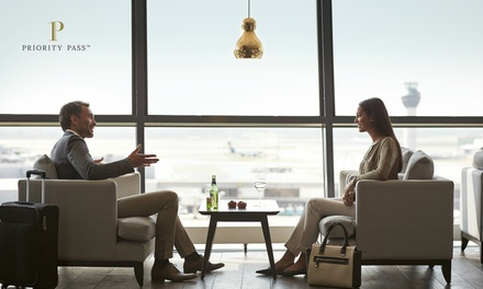 $9 for Airport Lounge Membership at Over 400 Cities Worldwide with Priority Pass