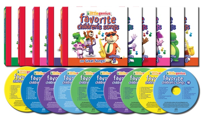 Little Genius: Favorite Children's Songs: Little Genius: Favorite Children's Songs. Free Returns.