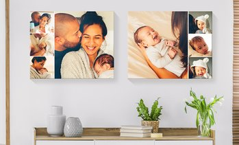 "Up to 91% Off Personalized 16"" x 20"" Custom Canvas Prints"