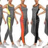 Women's Gym Top and Leggings Set