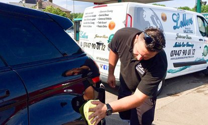 image for Car Valet with an Optional Luxury Hand Polish at Lellers, Hertfordshire (50% Off)