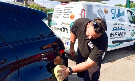 Mobile Valet with an Optional Luxury Hand Polish in All HP Postcodes with Leller's (50% Off)