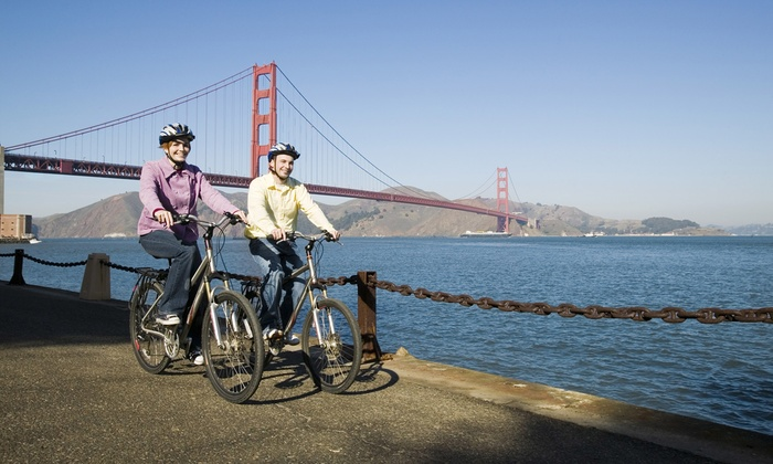 Sausalito Bike Rentals and Tours - Sausalito: Bike Rental for Two or Four from Sausalito Bike Rentals and Tours(Up to 51% Off)