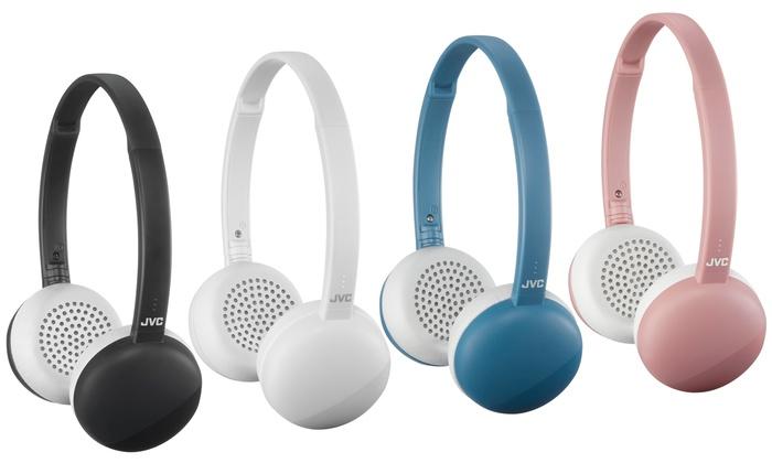 b19a1364604 JVC Flats Wireless Headphones | Groupon Goods