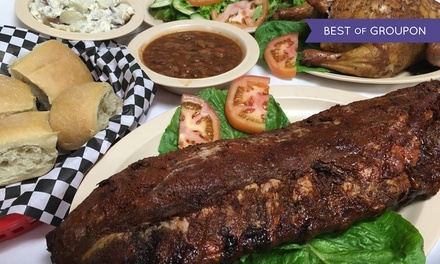 $36 for Family BBQ Pack for Four People at Buckboard BBQ & Catering ($59.99 Value)
