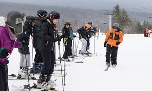 Sourced Adventures: $125 for One Hunter Mountain Learn to Ski Saturday Package with Transportation from Sourced Adventures ($157 Value)