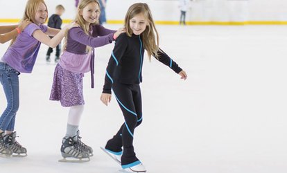 image for One or Two Months of Learn to Skate Classes at <strong>Ice</strong> Skate USA (Up to 52% Off)