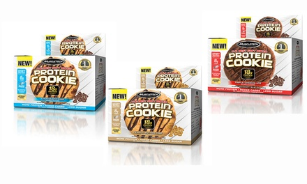 MuscleTech Protein Cookies (12-Pack)