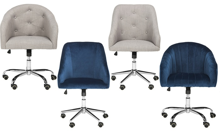 Safavieh Upholstered Desk Chairs: Safavieh Upholstered Desk Chairs