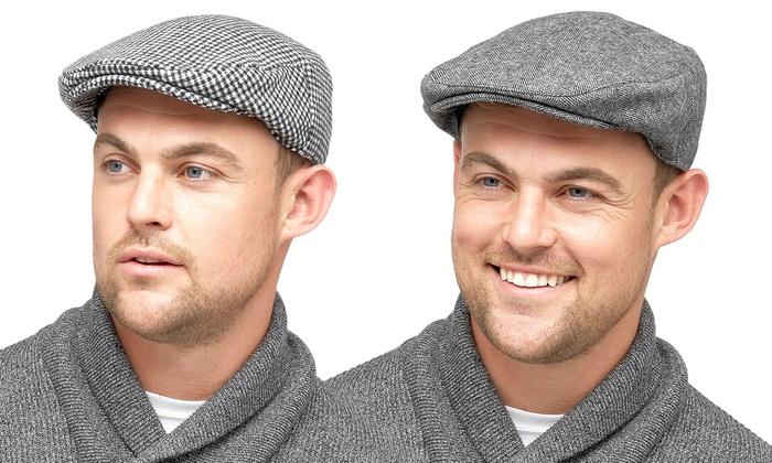 61d382943 Men's Peaky Blinder-Style Cap | Groupon Goods