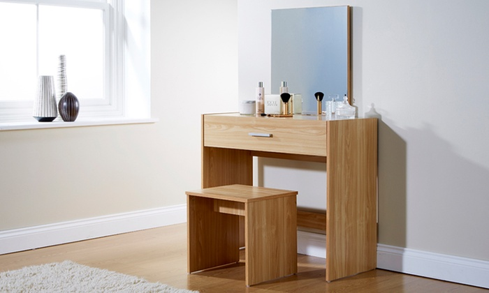 Dressing table sets three designs groupon goods
