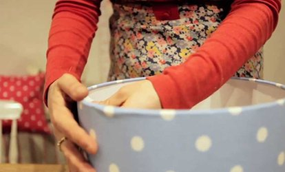 image for Lampshade Making Workshop For One (£24) or Two (£44) at Midas Touch Crafts (Up to 80% Off)