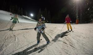 MANIGOD-LABELLEMONTAGNE Station de ski FR: Forfait de ski en nocturne pour 1 personne, journée en option, dès 12,50 € à la station Manigod-Labellemontagne