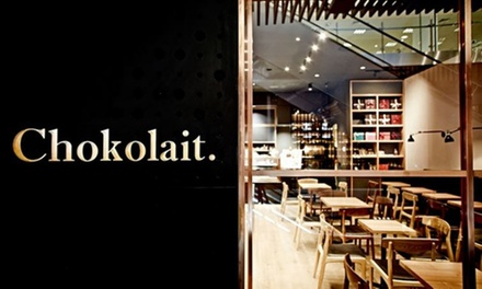 Chef's Chocolate Tasting Platter with Drinks for Two ($29) or Four People ($57) at Chokolait, CBD (Up to $117.80 Value)