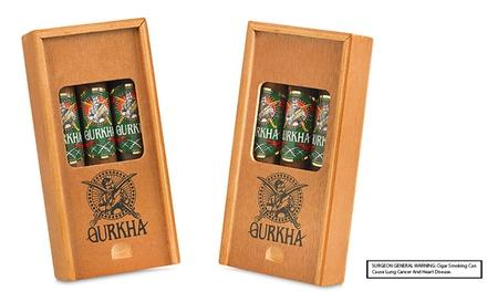 Toro or Robusto Gurkha 2016 Trinity Select Cigars
