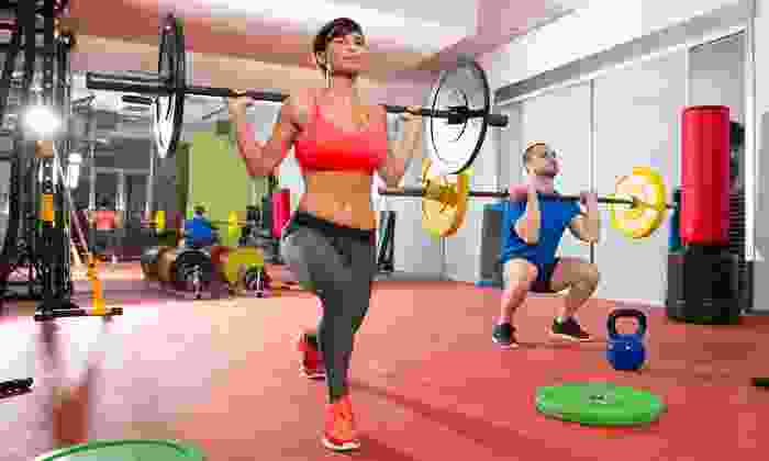 Moore Power and Fitness - Canton: Unlimited One-Month Membership for One or Two to Moore Power and Fitness (Up to 66% Off)