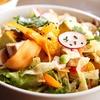 Vegetarisches Salat-Partybuffet