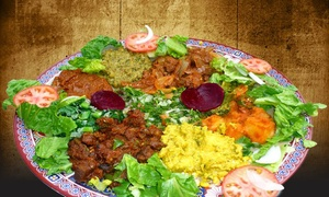 Horn of Africa: $15 for $20 Worth of Northeast African Cuisine for Dinner at Horn of Africa