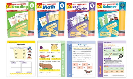 Skill Sharpener Workbooks for Pre-K through 6th Grade (Sets of 4)