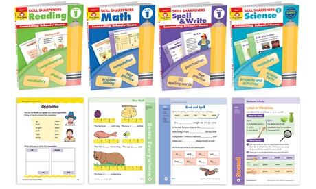 Skill Sharpener Workbooks for Pre-K through 6th Grade (Sets of 4)