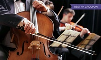 Royal Northern Sinfonia: Two Balcony Tickets, 7 April at King Georges Hall (Up to 56% Off)