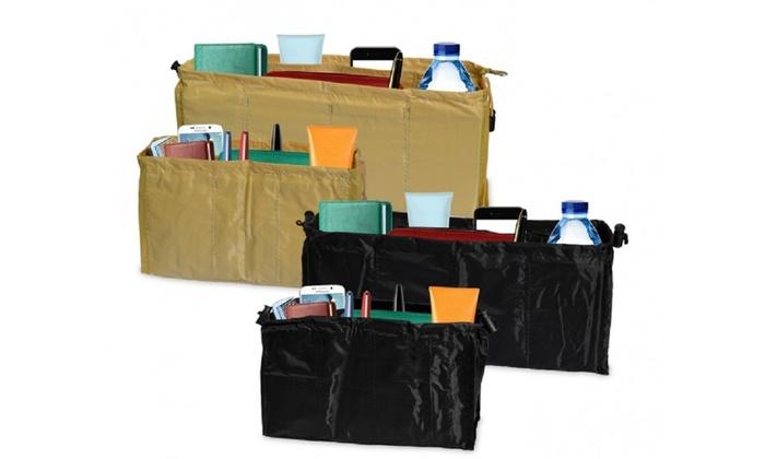2 organizer per borse disponibili in 2 colori